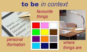 английский глагол to be в контексте